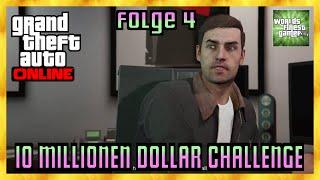 GTA 5 Online 10 MILLIONEN DOLLAR CHALLENGE | Kriminelles Genie / Flugzeug Folge 4 HD