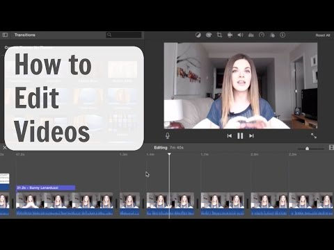 Video Editing Software & Tips