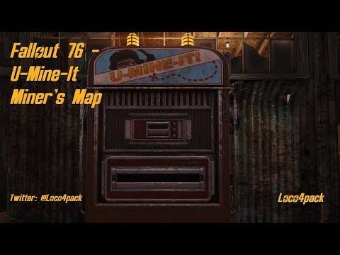 Fallout 76  - U Mine It Miner's Map