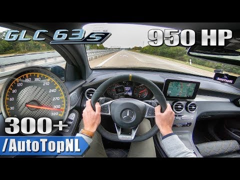 950HP MERCEDES GLC 63 S AMG GAD Motors 300+km/h AUTOBAHN POV By AutoTopNL