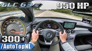950HP MERCEDES GLC 63 S AMG GAD Motors 300+km/h AUTOBAHN POV by AutoTopNL
