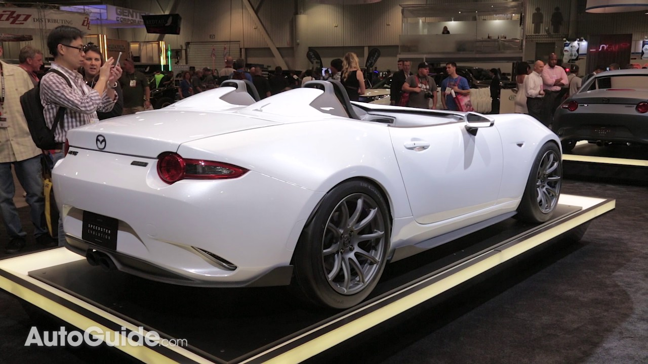 Mazda MX-5 Miata Speedster Evolution & MX-5 RF Kuro Concepts - 2016 ...