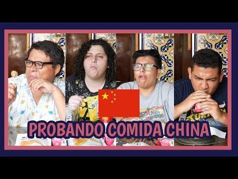 PROBANDO COMIDA CHINA - Ariana Bolo Arce