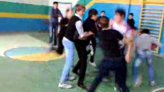 убойный баскетбол Баксаненок 1-ая школа