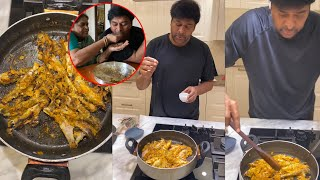 Megastar Chiranjeevi Making Fish Fry For His Mother   #Megasta…
