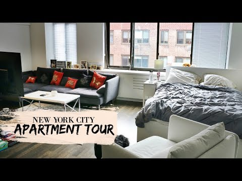 New York City {Manhattan} Studio Apartment Tour