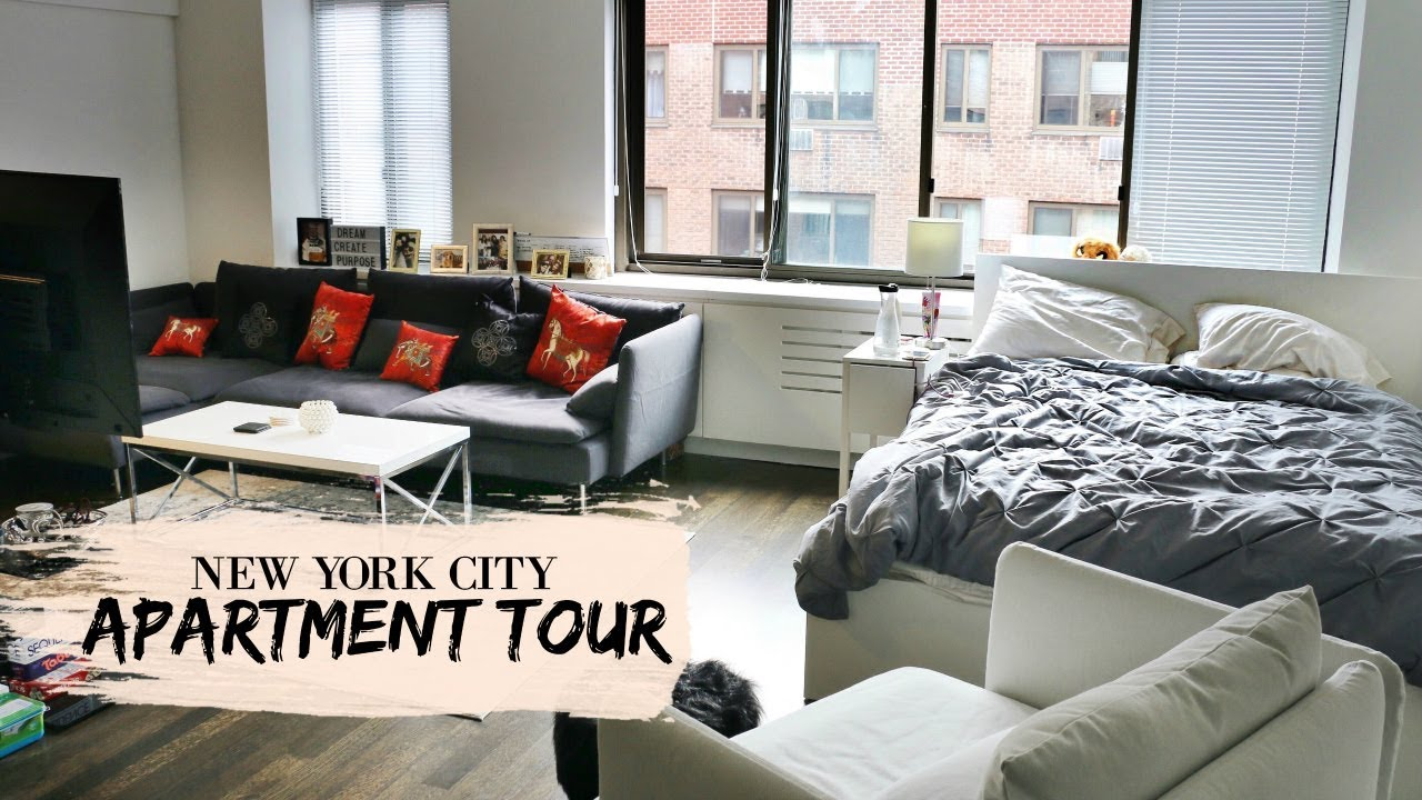 New York City Manhattan Studio Apartment Tour