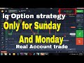 LIVE trading Strategy Only for OTC Market (Sunday and Monday) MACD 60 seconds iq option strategy