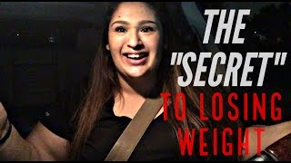 THE SECRET TO LOSING WEIGHT | VLOG #1