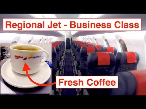 [✈︎TRIP REPORT✈︎] Iberia Business Class || LYS-MAD + Lounge