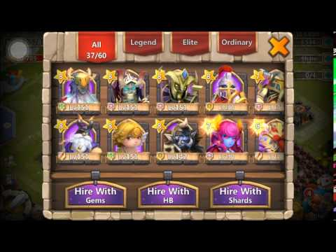 Castle Clash Free Legendary Hero Card And 4k Gems