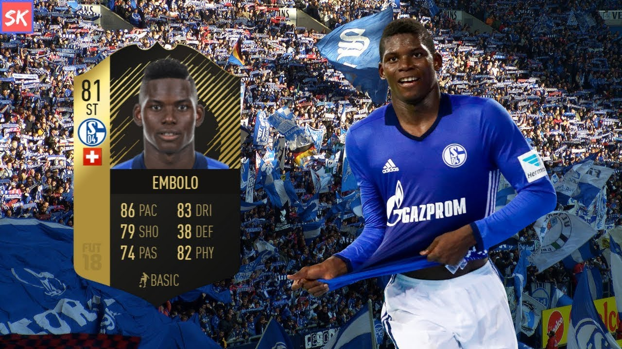 Embolo Fifa 18