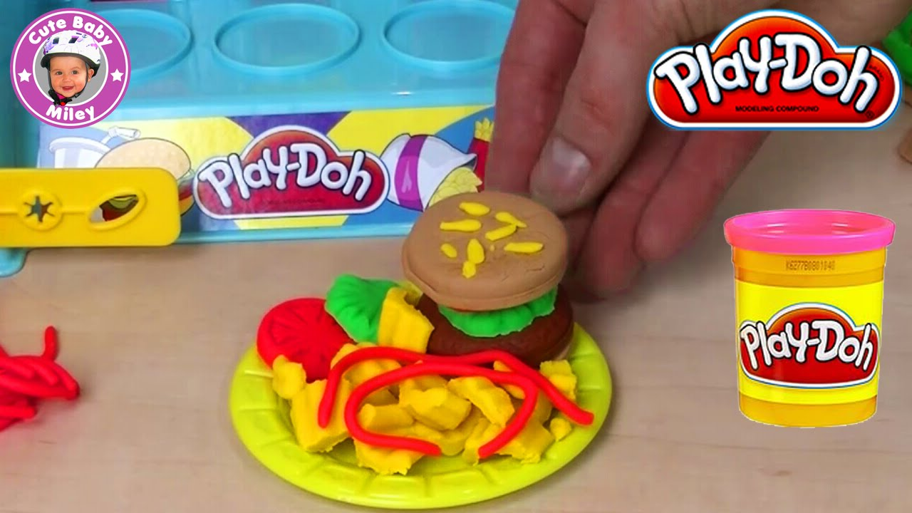 Play Doh Knete Küche Play Doh Burger Builder Youtube - Driverlayer Search Engine