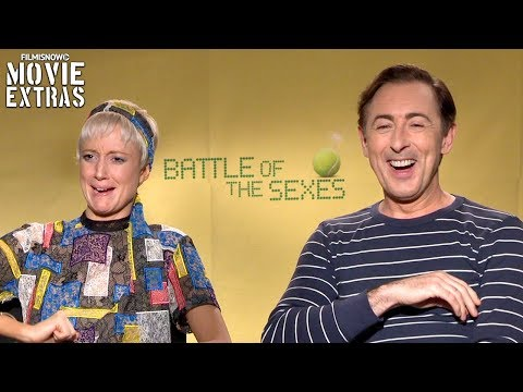 Battle Of The Sexes 2017 Andrea Riseborough & Alan Cumming talk about the movie