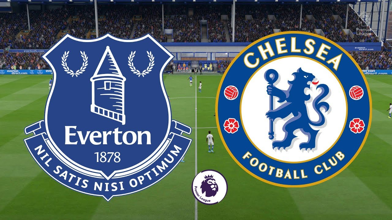 Premier League 2019 20 Everton Vs Chelsea 07 12 19 Fifa 20 Youtube
