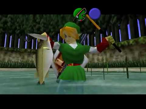 Let's Play Ocarina of Time Part 27: Back at the Fishing Hole