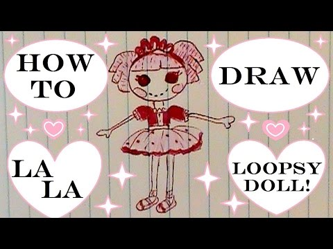 How To Draw A Lalaloopsy Doll