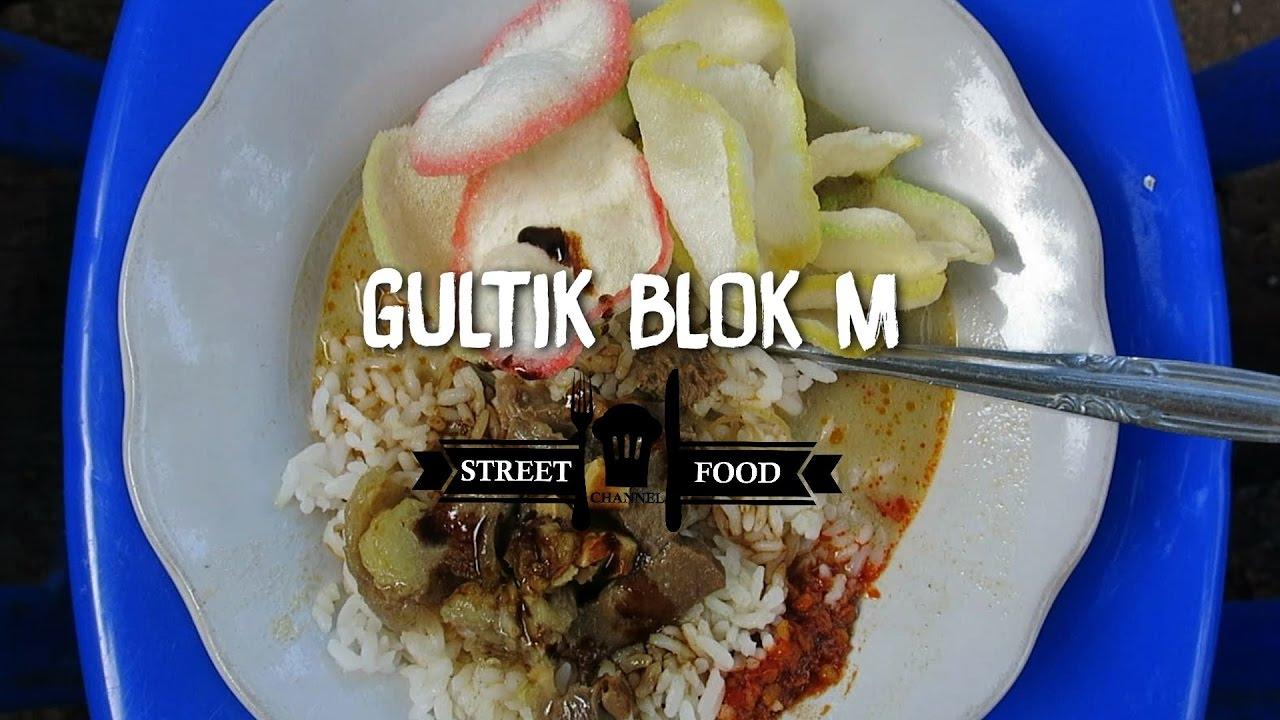 Streetfood Indonesia Gultik Gulai Tikungan Blok M Youtube