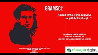 """Gramsci: """"Għażiż Delio, agħti daqqa ta' sieq lil ħolm fil-vojt."""""""