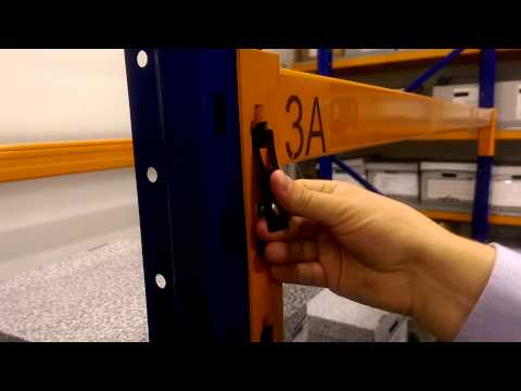 How To Fit A Dexion Mk3 Safety Lock