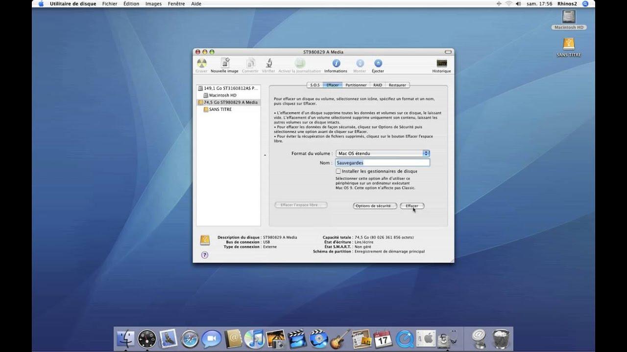 logiciel pour mac os x 10.4.11