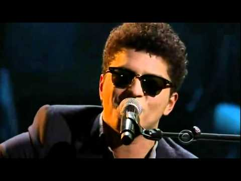 Bruno Mars   Just The Way You Are @ Live Grammy Nominations Concert 2011