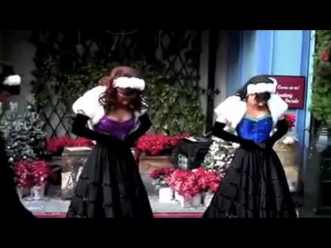 Universal Studios French Holiday Can Can Show