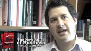 The New Rules of Business, by Dan Matthews