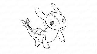 Как нарисовать карандашом поэтапно дракона Беззубика: инструкция от EvriKak(Предлагаем нашу пошаговую инструкцию как нарисовать дракона Беззубика из мультфильма. Фото и текстовая..., 2015-11-19T14:52:18.000Z)
