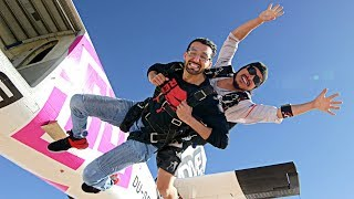 INSANE SKYDIVE (Jumped 30,000 Feet from a Plane!!)