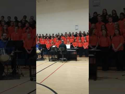 Lockerman Middle School Christmas Chorus Concert(6)