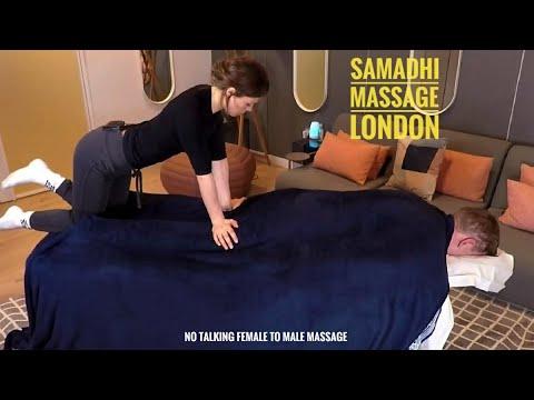 Samadhi Massage Therapy | Full Body Massage In London | ASMR Sleep | No Talking