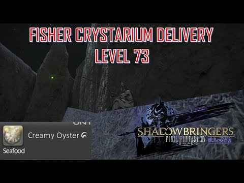 Final Fantasy XIV - Level 73 Fisher Crystarium Delivery Creamy Oyster