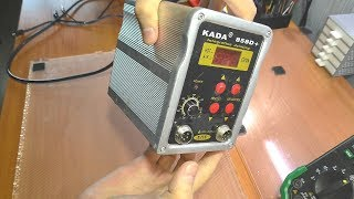 РЕМОНТ ДЛЯ ПОДПИСЧИКА: Паяльная станция Kada 858D+ / Не включается
