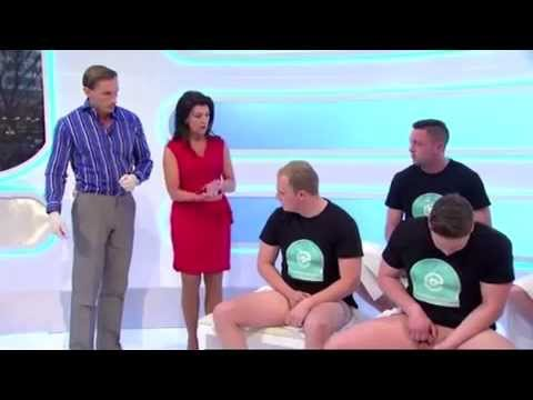Gay doctor examine naked men keeping up a 3