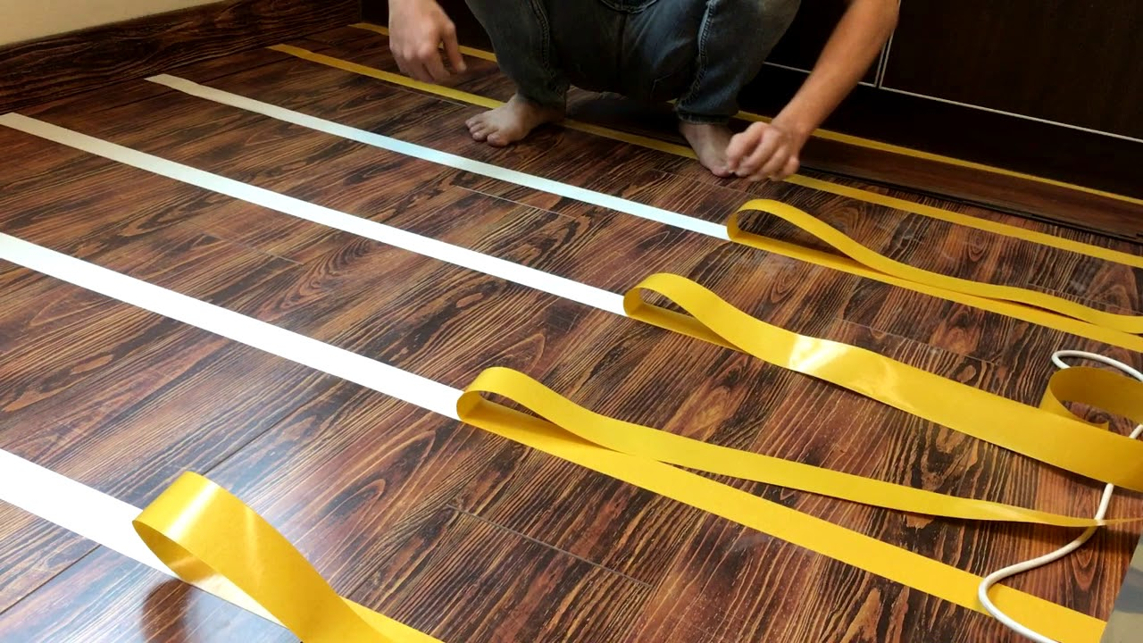 Eurox 2 0mm Vinyl Flooring Double Sided Tape Installation