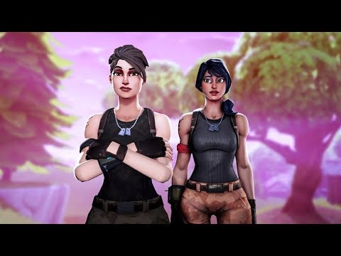 Carrying The Nicest Random Girl On Fortnite (Random Duos)