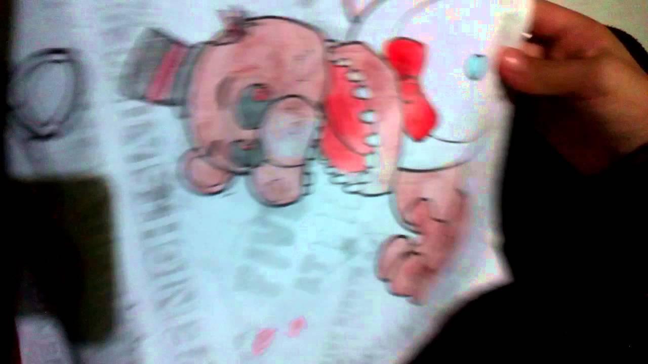 Mis libros de colorear de Five Nights at Freddy\'s - YouTube