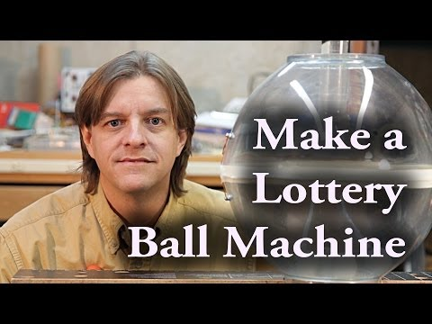 How to make an air lottery ball machine
