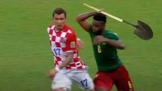 Funny Football Fights Compilation Sports Fights Cheap Shots