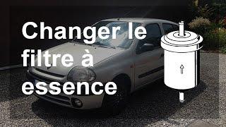 Changer le filtre à essence / carburant - Renault Clio 2