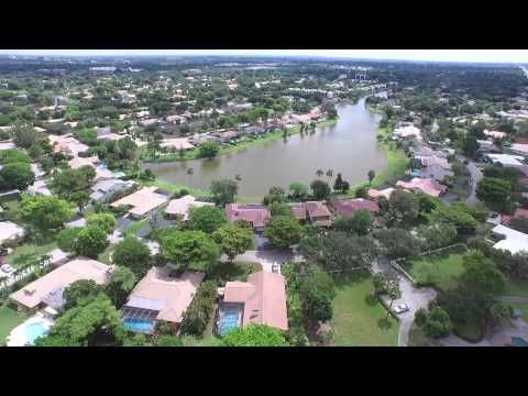 Drone View of Coral Springs