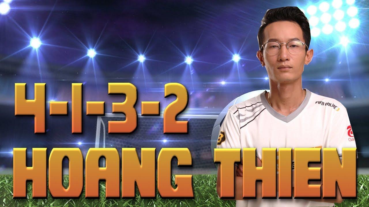 Review Chiến thuật 4-1-3-2 Hoàng Thiện - Legend Fo3 Việt nam