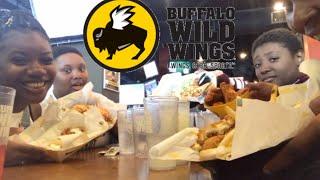 Buffalo Wild Wings MUKBANG! (HILARIOUS)