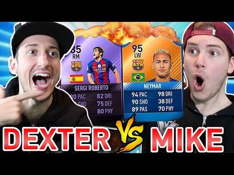 MIKE vs DEXTER: ABBIAMO TROVATO UN GIOCATORE RARISSIMO!! - PACK OPENING FIFA 17  Ultimate Team