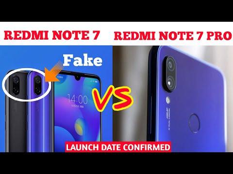 Redmi Note 7 Pro Launch Date Confirmed | Redmi Note 7 Pro Vs Redmi Note 7 Actual Difference