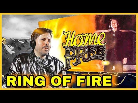 REACTION | HOME FREE - RING OF FIRE (featuring Avi Kaplan of Pentatonix)