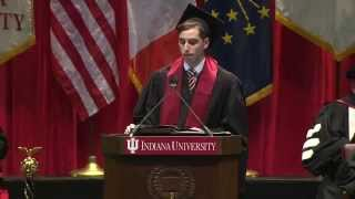 Parker Mantell Indiana University Commencement Speech
