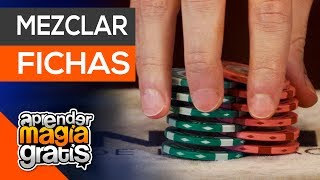 Como barajar fichas de poker | Aprender magia gratis