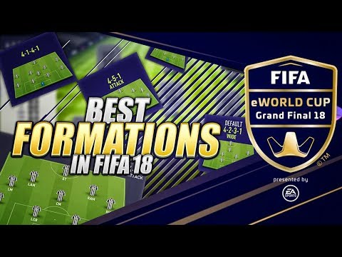 BEST FORMATIONS IN FIFA 18 ULTIMATE TEAM - FUTCHAMPIONS FINALS BARCELONA FIFA E-WORLD CUP thumbnail